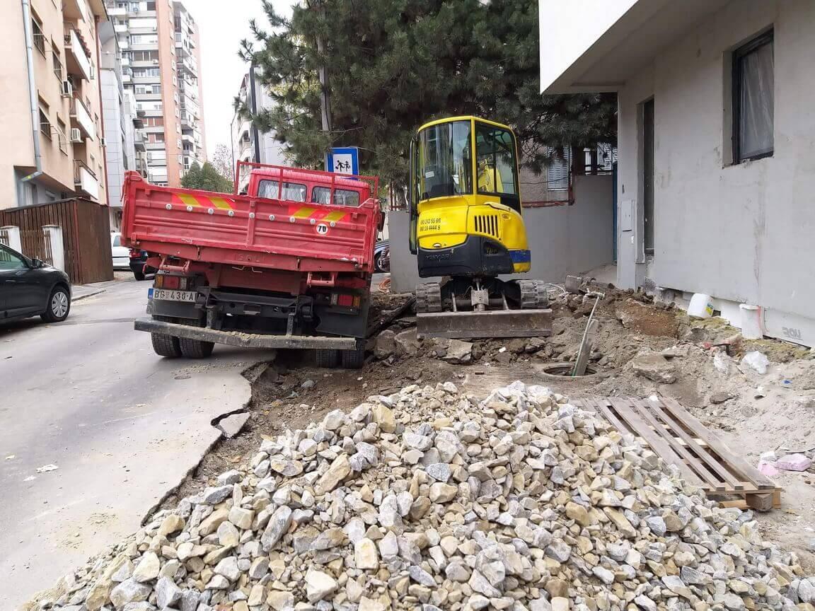 asfaltiranje i zemlani radovi